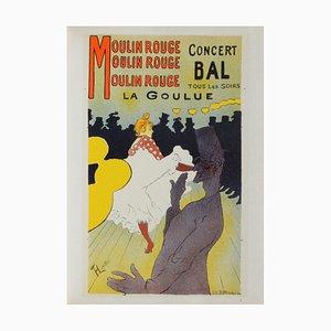 La Goulue au Moulin-Rouge after Henri Toulouse-Lautrec