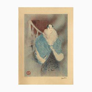 Elsa la Viennoise after Henri Toulouse-Lautrec