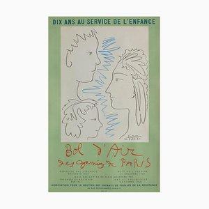 Expo 60 - Dix ans au service de l'enfance after Pablo Picasso