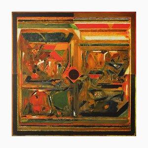 Forêt de symboles: Germination II by Sayed Haider Raza