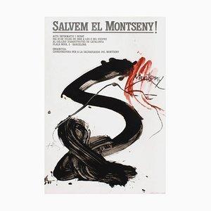 Expo 86 - Salvem el Montseny par Antoni Tapies