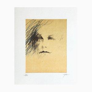 Rimbaud Variations VIII by Ernest Pignon-Ernest