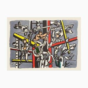 Les Constructeurs d'après Fernand Léger