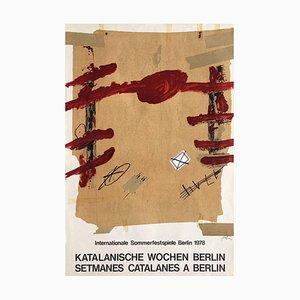 Expo 78 - Setmanes Catalanes à Berlin par Antoni Tapies