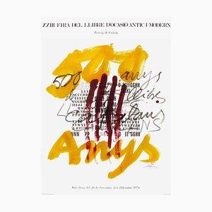 Expo 74 - Fira del Llibre d'ocasio par Antoni Tapies