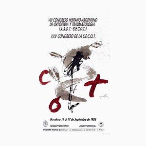 Expo 88 - Congresso de Ortopedia par Antoni Tapies