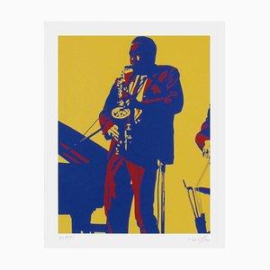 Charly Parker by Bernard Rancillac