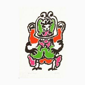 Portraits VII: Quetzalcoalt par Charles Lapicque