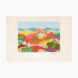 Greek Landscape by Charles Lapicque