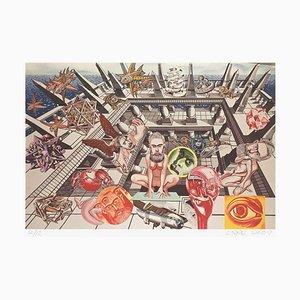 Hommage à Escher par Gudmundur Erro