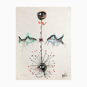 L'âge du verseau: poissons et étoile par Jean Cocteau