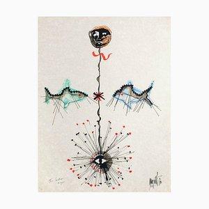 L'âge du verseau: poissons et étoile by Jean Cocteau
