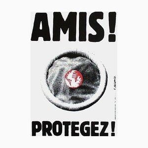 Amis! Protégé! (SIDA) par Roman Cieslewicz