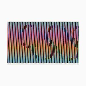 Induction chromatique - Juegos de Barcelona par Carlos Cruz-Diez