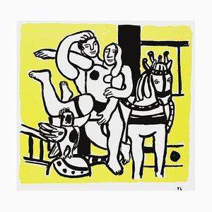 Les Acrobates d'après Fernand Léger