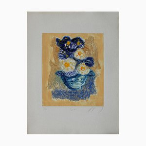 Fleurs: Zinnia von Jean-Marie Guiny