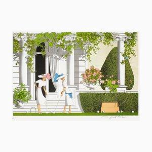 Villas - Le croquet by Denis-Paul Noyer