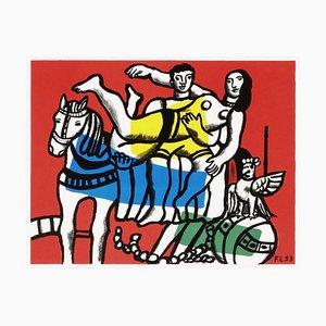 Le cirque d'après Fernand Léger