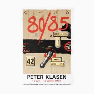 Expo 85 - Saint Paul de Vence par Peter Klasen