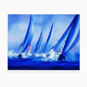 V - Voiles II by Victor Spahn