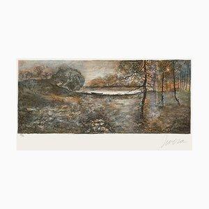 Paesaggio invernale di Antonio Rivera