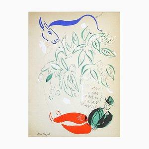 Âne Bleu d'après Marc Chagall