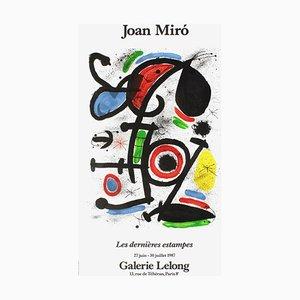 Expo 87 - Galerie Lelong par Joan Miro