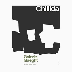Expo 68 - Galerie Maeght d'après Eduardo Chillida