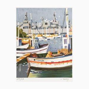 Le Port de Toulon par Georges Palmieri