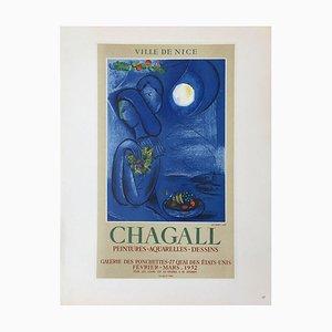 Af 1952 - Ville de Nice after Marc Chagall