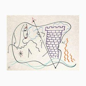 The Age of Aquarius: The Tower par Jean Cocteau