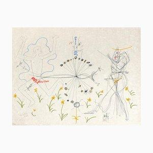 The Age of Aquarius: Love par Jean Cocteau