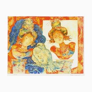 Les Deux Femmes par Sakti Burman