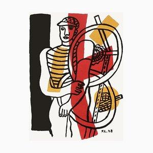 Cycliste II d'après Fernand Léger