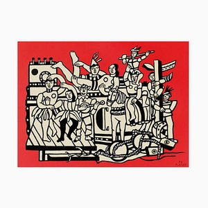 The Great Parade after Fernand Léger