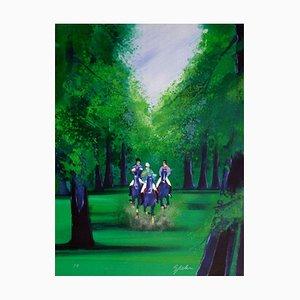 Promenade en forêt par Victor Spahn