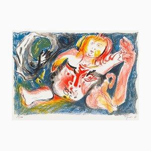 Homme à l'enfant by Edouard Pignon