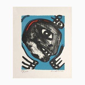 Black Face by Bengt Lindstrom