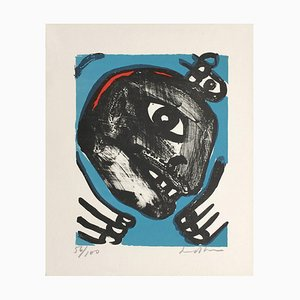 Visage Noir par Bengt Lindstrom