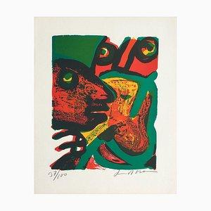Visages Rouges par Bengt Lindstrom