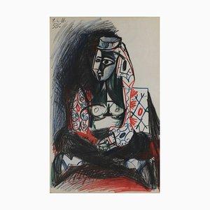 Carnet California 18 d'après Pablo Picasso