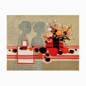 Silhouettes et Bouquet par Frédéric Menguy, 1973
