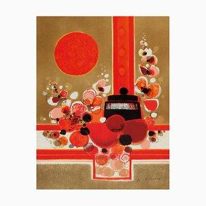 Soleil Rouge par Frédéric Menguy, 1973