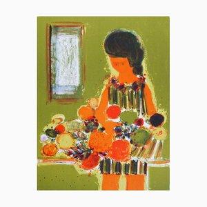 Vendeuse de Fruits par Frédéric Menguy, 1970