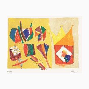 Composition II par Daniel Humair