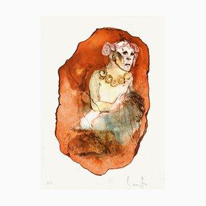 Visage Rouge par Leonor Fini