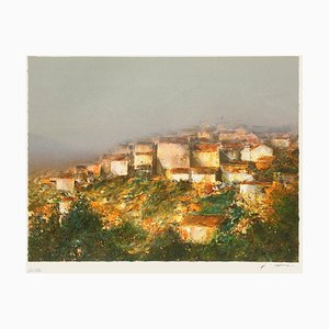 Village perché en Provence by François D'izarny