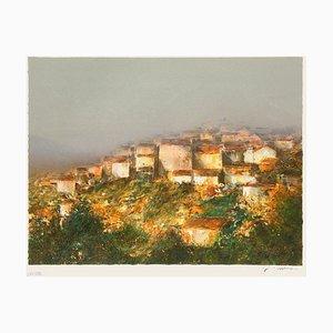 Village perché en Provence par François D'izarny