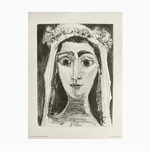 Jacqueline en mariée de face (6) after Pablo Picasso