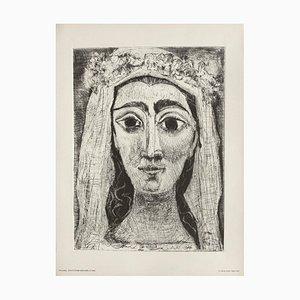Jacqueline dans Front Bride (17) d'après Pablo Picasso